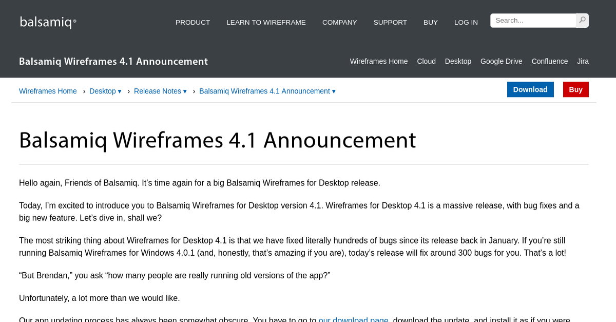 Balsamiq Wireframes Release Notes for Balsamiq Wireframes ...