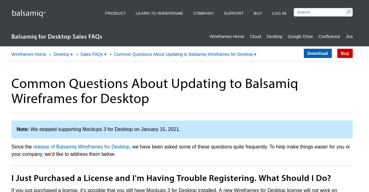 Common Questions About Updating to Balsamiq Wireframes for ...