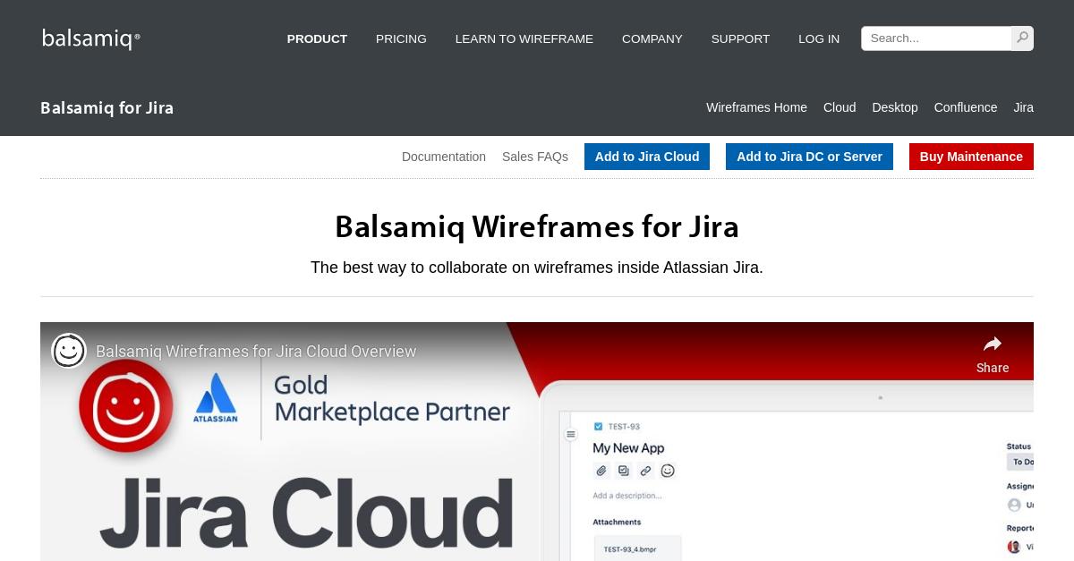 Balsamiq for Jira | Balsamiq